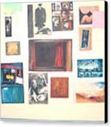 Bulletin Board Canvas Print