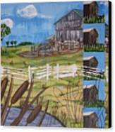 Bullrushes Canvas Print