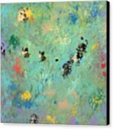 Bumblebees Canvas Print by Helene Henderson