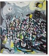 Bummer Flat11 Canvas Print