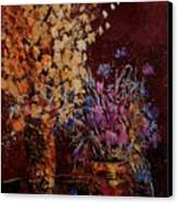 Bunch Of Dried Flowers  Canvas Print