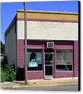 Burlington North Carolina - Small Town Business Canvas Print