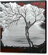 Burning Desire Canvas Print by Sylvia Sotuyo