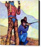 Bushwacked At The Arroyo Canvas Print