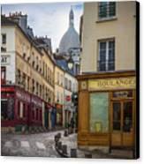 Butte De Montmartre Canvas Print