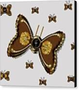 Butterflies For The Worlds  Future Canvas Print by Pepita Selles