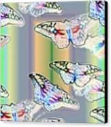 Butterflies In The Vortex Canvas Print