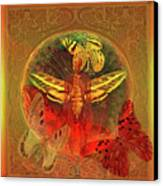 Butterflyman Solarlife Canvas Print by Joseph Mosley