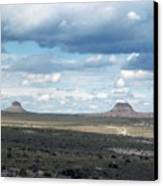 Buttes Canvas Print