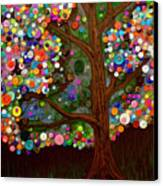 Button Tree 0007 Canvas Print
