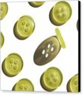 Button Up Canvas Print