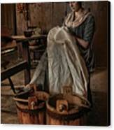By Hand Canvas Print by Robin-Lee Vieira