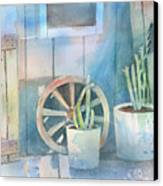 By The Side Of The Shed Canvas Print
