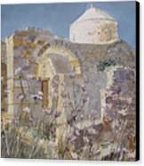 Byzantine Monastery Cyprus Canvas Print