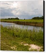 C54 Canal In Florida Canvas Print