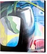 Cadre Canvas Print by Muriel Dolemieux