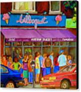 Cafe Bilboquet Ice Cream Delight Canvas Print