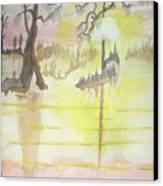 Cajun Sunrise Canvas Print