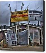 Calabash Bait Shop Canvas Print by Corky Willis Atlanta Photography