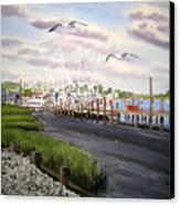 Calabash Shrimp Canvas Print