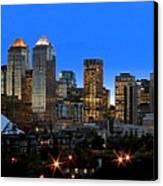 Calgarys Skyline Canvas Print