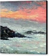 California Coast Canvas Print by Gail Kirtz