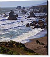 California Coast Sonoma Canvas Print