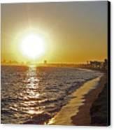 California Sunset Canvas Print by Ernie Echols