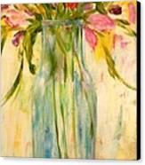 Calla Lilies Canvas Print by Barbara Pirkle