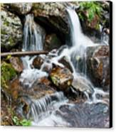 Calypso Cascades White Water Canvas Print by Brent Parks