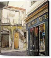 Calzados Victoria-leon Canvas Print by Tomas Castano
