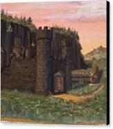 Camlochlin Castle Canvas Print by James Lyman