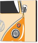 Camper Orange 2 Canvas Print by Michael Tompsett