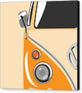Camper Orange Canvas Print by Michael Tompsett