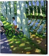 Canal Du Midi France Canvas Print