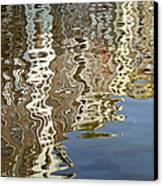 Canal House Reflections Canvas Print by Joan Carroll