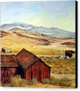 Canderia Nevada Canvas Print by Evelyne Boynton Grierson
