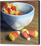 Candy Corn Canvas Print