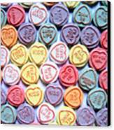 Candy Love Canvas Print