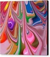 Candy Melt Canvas Print
