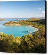 Caneel Bay Panorama Canvas Print