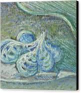 Canna Seed Series 3 Canvas Print by Diana Davenport