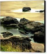 Cannon Beach, Oregon 2 Canvas Print by Shiela Kowing