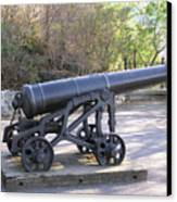 Cannon Canvas Print by Richard Mitchell