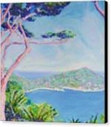 Cap Ferat Provence Canvas Print