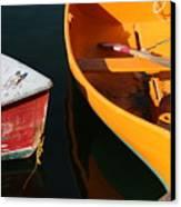 Cape Ann Boats Canvas Print