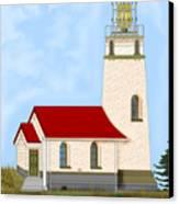 Cape Blanco Oregon Canvas Print