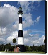 Cape Canaveral Light Florida Canvas Print
