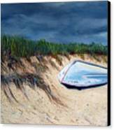 Cape Cod Boat Canvas Print