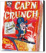 Capn Crunch Canvas Print by Russell Pierce